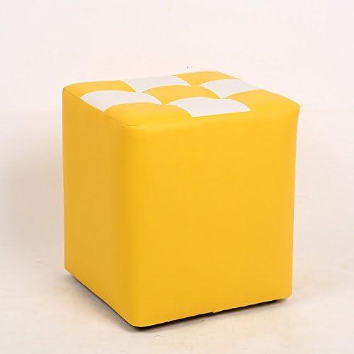 ventas en linea STJK BMJW Solo Salón Cama Infantil Infantil Infantil De Madera De Heces Heces Cola Circular Sofá Adulto amarillo Y blanco (3235)  calidad fantástica