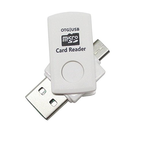 Teflon USB 2.0 Micro SD/SDHC 2 in 1 Flash Memory Card Reader...