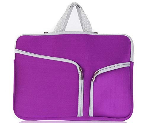 11inch 11.6inch Purple notebook/chromebook/Vivobook/EeeBook Carrying sleeve case for Lenovo Asus Hp Acer Dell Refurbished Asus/Hp/Microsoft/Acer/Lenovo(11.6inch, Purple)