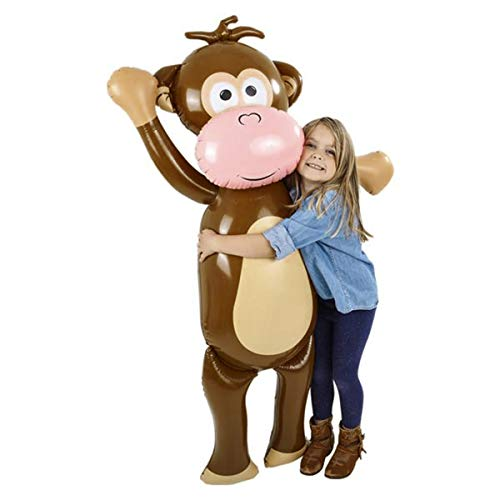 Forest & Twelfth Kids Giant 57 inch Inflatable Monkey – Fun Jungle...