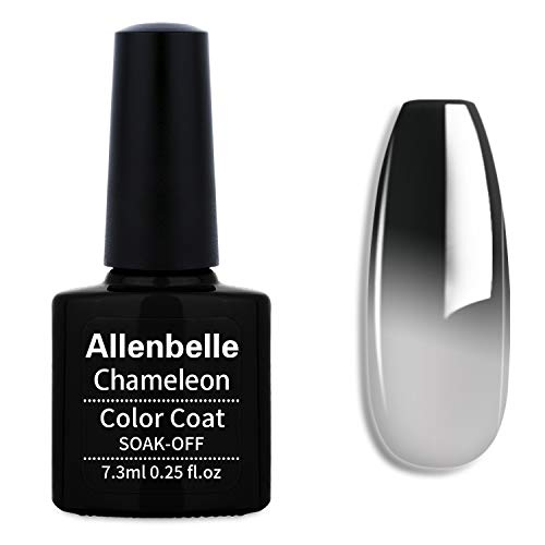 Allenbelle Smalto Semipermanente Camaleonte Nail Polish UV LED Gel Unghie 7.3ml 5772