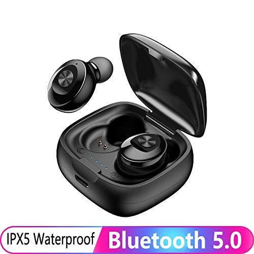 Bluetooth koptelefoon TWS 5.0 draadloze koptelefoon HIFI geluid oordopjes Handsfree Gaming Mini Headset Stereo Sport oortelefoon voor telefoon