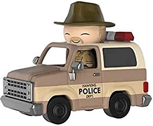 Funko- Stranger Things Hopper and Sheriff Deputy Truck Figura de Vinilo (21490)