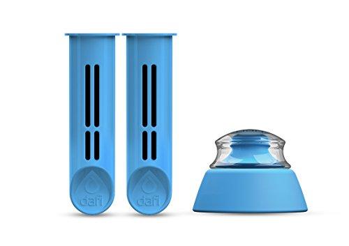 Dafi Sport Bleu Set 2filtres + Cup cadeau pour bouteille filtrante