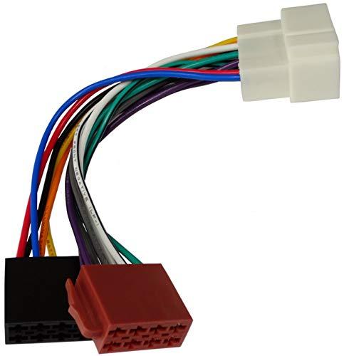 AERZETIX: Adattatore cavo spina ISO E2 per autoradio C1997