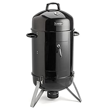 Cuisinart COS-118 Vertical 18  Charcoal Smoker, Black