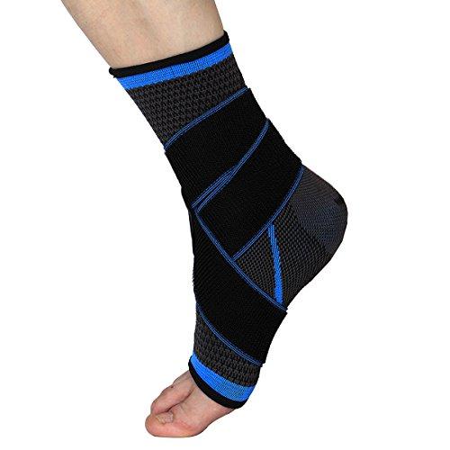 WINOMO Tobillera Estabilizadora Deportiva Protección de Tobillos para prevenir de Esguince Lesiones en el Tobillo de Las Actividades diarias Unisexo (Color al Azar)
