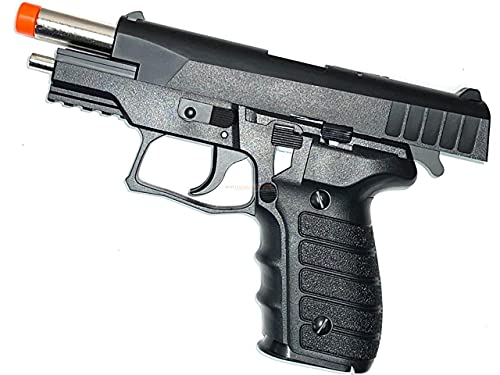 Airsoft Spring Toy Pistol Fun Backyard 15 Rounds Magazine Capacity with Manual Safety