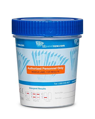 [100 Pack Bulk Special] 12 Panel Urine Drug Test Cups | AMP,...