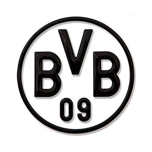 Borussia Dortmund BVB 89140401 - Adesivo per Auto, Colore: Nero