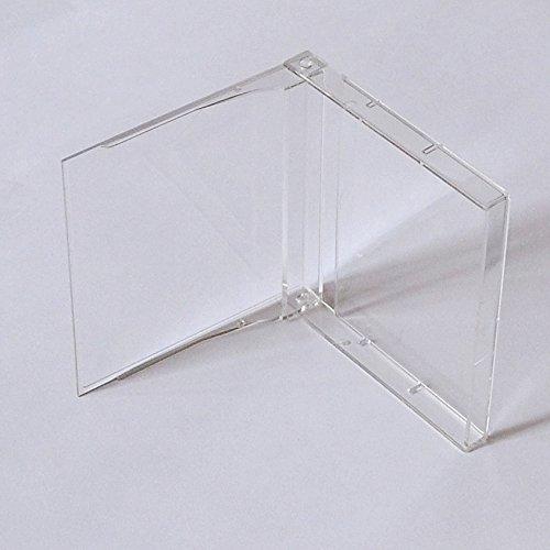 MD MiniDisc Hüllen/Leerhüllen, für MiniDisc-Kassetten, transparent-hochklar (20 Stück)