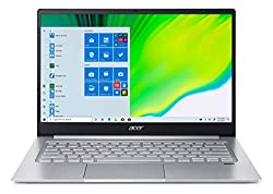 Acer Swift 3 SF314-42 14-inch Laptop (AMD Ryzen 5 4500U Hexa-core processor/8GB/512GB SSD/Window 10, Home, 64Bit/AMD Radeon Graphics), Silver,Acer,SF314-42