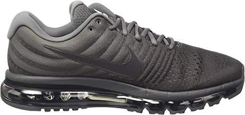 Nike Men's Air Max 2017 Running Shoes (14, Anthracite Grey/White/Black)