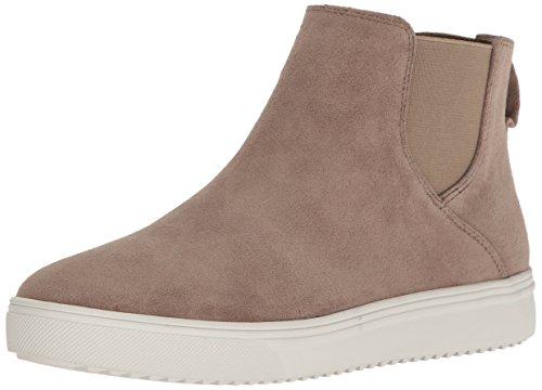 Blondo Women's Baxton Waterproof Fashion Sneaker, Mushroom Suede, 9.5 M US