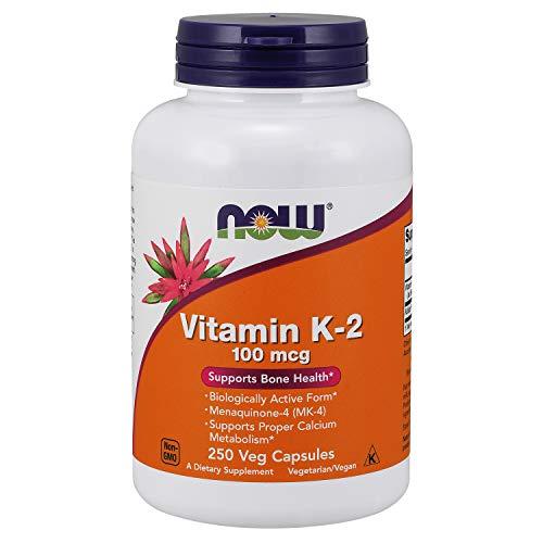 Now Foods Vitamin K-2 100mcg () Es 100 G, 250 Unidad