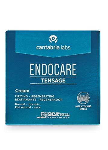 Endocare Tensage Cream Crema Antiarrugas, Antiflacidez, Regeneradora Antiedad, Efecto Tensor Inmediato, Nutritiva, para Pieles Normales a Secas - 30 ml