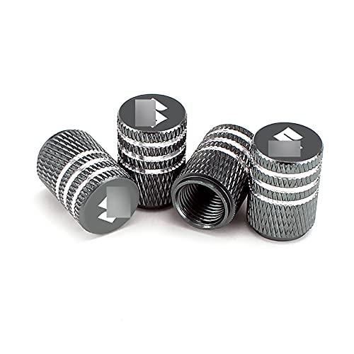 4 Piezas Tapas de vástago de válvula de aluminio para Suzuki Swift SX4 S Cross Jimny Samurai Vitara Xl Alto Ignis,Tapones antipolvo de válvula de neumático Coche, Tapas para válvulas de neumáticos