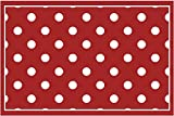 matches21 Fußmatte Fußabstreifer Decor Motiv rot
