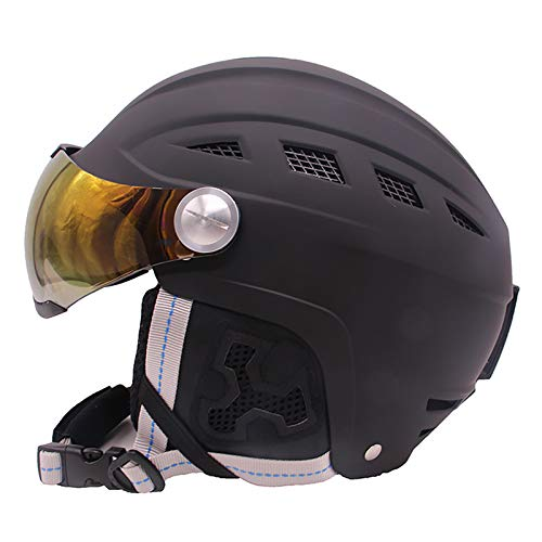 Ski Helmet, Snowboard Helmet, Climate Controlled Vents, Detachable Lining, for Men, Women And Youth,M