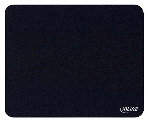 InLine ® Maus-Pad antimikrobiell, ultradünn, schwarz