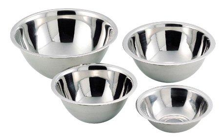 パール金属 パートナー ステン 深型 ボール 4点セット(16・18・21・24cm) H-5335