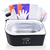 Waxkiss Paraffin Wax Machine for Hands and Feet 4000ML Wax Warmer Machine 4.0lbs Paraffin wax Bath for Hands Moisturizing Kit with Paraffin Wax Refill Thermal Mitts Gloves Booties