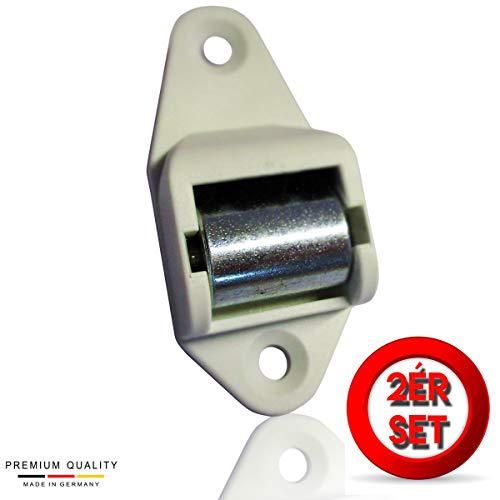 Gurtleitrolle Rolladen Gurtführung 15 mm Königsrolle Handwerkerqualität 2 Stück