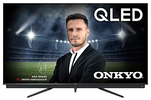 TCL 55C815 - Televisor Smart TV 4 K UHD (55 pulgadas, HDR 10, Micro Dimming Pro, Android TV, Alexa, Google Assistant)