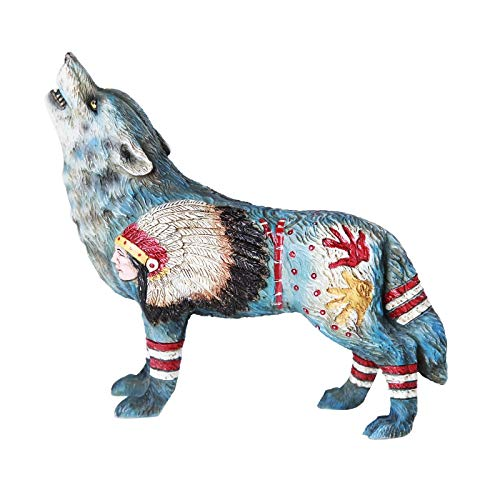 Pacific Giftware The Wolf Spirit Collection Homage to The Chief Wolf Spirit Collectible Figurine
