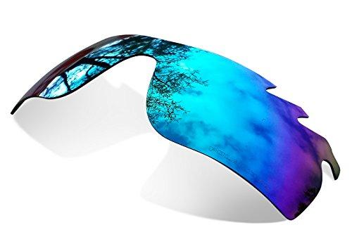 Lentes Polarizadas de Recambio Ice Blue para Oakley Radarlock Ventilada
