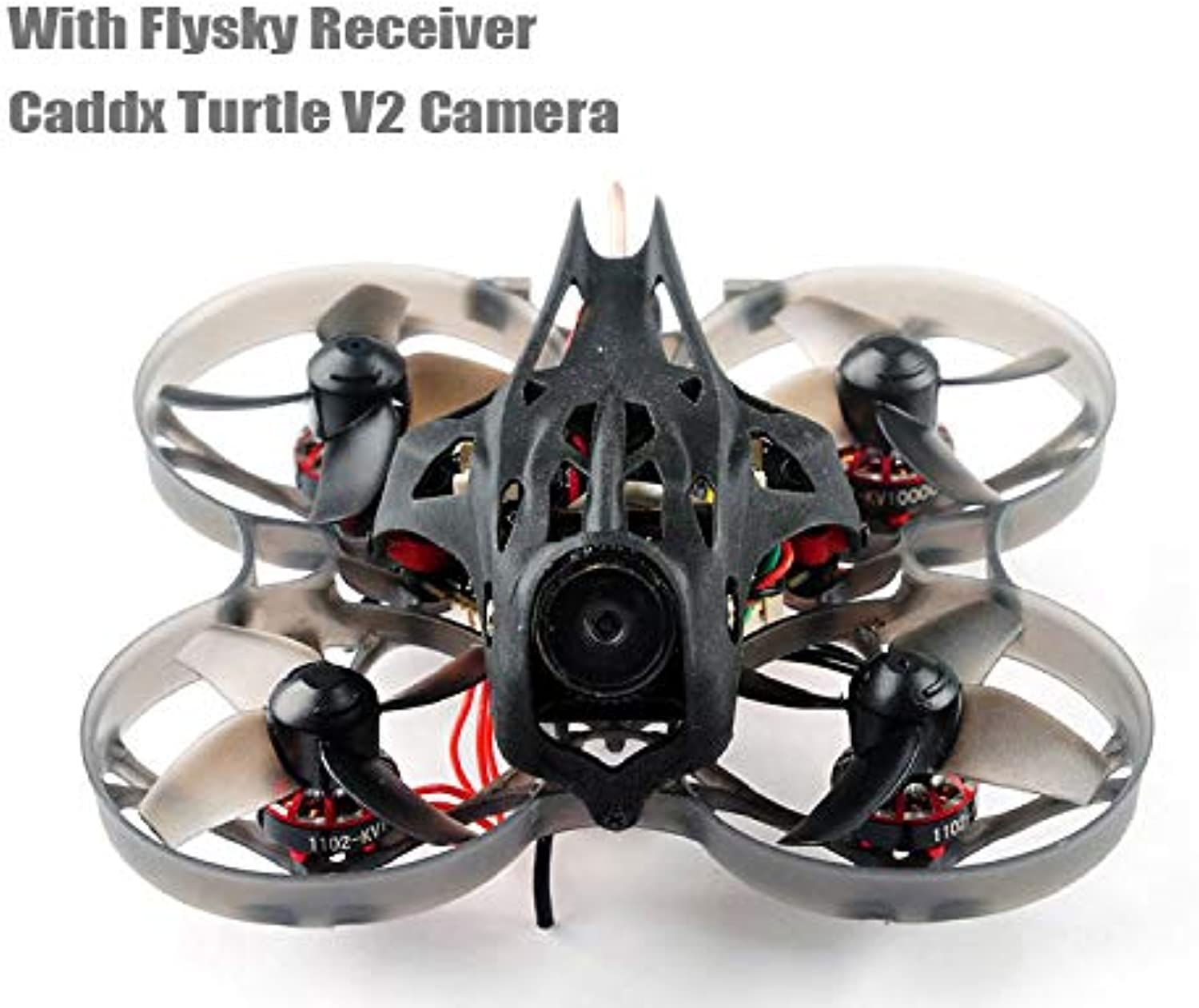 Mobula7 V2 HD 23S 75mm Indoor Micro RC Brushless FPV Whoop Drone BNF w Flysky Receiver (CADDX Turtle V2 HD Camera Included)