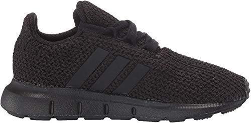 adidas Originals Kids Unisex's Swift Run Sneaker, black/black/black, 6 M US Big Kid