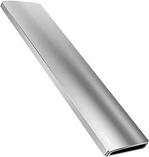 FRCOLOR Ergonomic Palm Rest Heavy Duty Aluminum Alloy 104 Keys Keyboard Hand Support