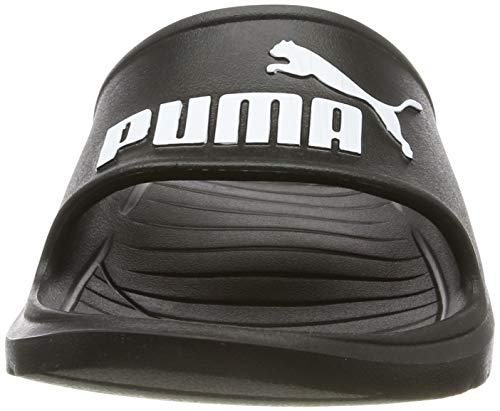 PUMA Divecat v2, Zapatos de Playa y Piscina Unisex Adulto Black White, 46 EU