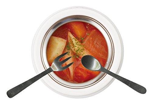 パール金属スープジャー400mlブラック保温保冷フードマグキープスHB-272