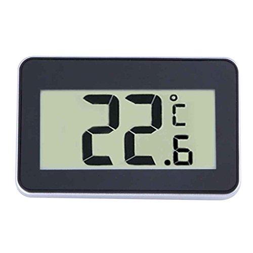 MUANI Digitale Koelkast Opknoping Thermometer Waterdichte Vriezer Kamer Temperatuur Gauge Frost Waarschuwing