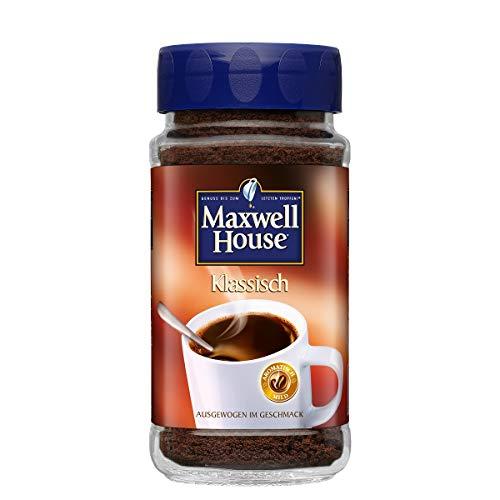 Maxwell House löslicher Kaffee, 2er Pack, 2 x 200 g Instant Kaffee