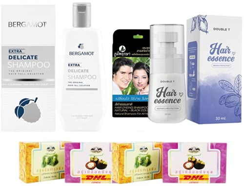 Set A39 BERGAMOT ORIGINAL EXTRA Recommended 200ml DELICATE T 2021 autumn and winter new SHAMPOO Double