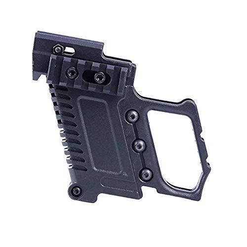 Gexgune Tactical Pistole Karabiner Kit Quick Reload für Glock G17 G18 G19 Serie Ladeausrüstung (2 Colros optional)