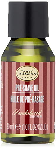 The Art of Shaving Pre Shave Oil - Sandalwood, Sandelholz 30 ml, Travel, Reisegröße