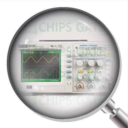 Osciloscopio de almacenamiento digital Atten ADS1102C de 100 MHz.