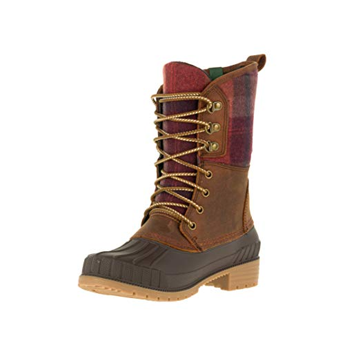 Kamik Women's Sienna2 Waterproof Winter Boot Dark Brown 10 Medium US