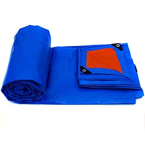 Baches Toile imperméable auvent de Poncho imperméable à l'eau de Toile de Protection Solaire d'ombrage épais de Toile de linoléum - Options de Taille Multi (Taille : 7m*5m)