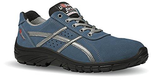 Botox Grip S1P U-Power - Zapato de seguridad suave de ante perforado Azul Size: 45 EU