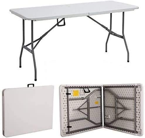 Multifunctional Limited time sale folding Max 63% OFF table 5ft Heavy Duty Ca Folding Catering