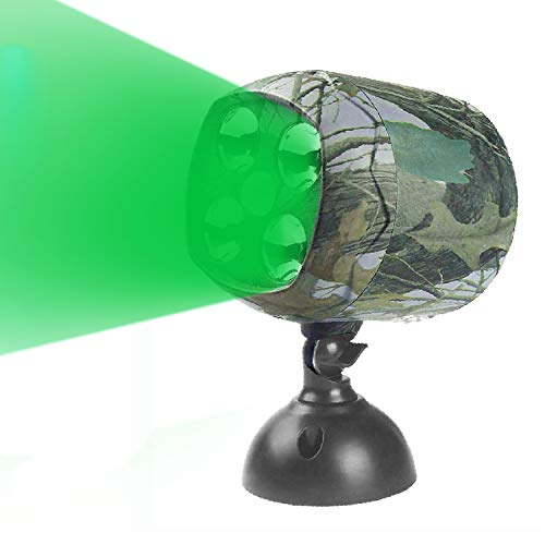 ARTITAN Feeder Light Hog Hunting Green Light Motion Sensor Spotlight Security Lights IP65 Waterproof for Outdoor Animal Game Feeder Cage