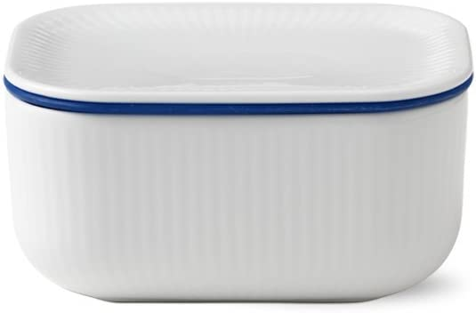 Royal Copenhagen White Fluted Dish Porcelain sold out Butter Popular brand in the world