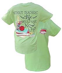 Southern Couture Womens Classy Teacher Short-Sleeve Tee Shirt