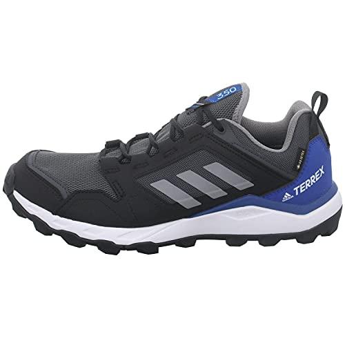 adidas Terrex Agravic TR GTX, Zapatillas de Trail Running Hombre, Grpudg/Gritre/AZUREA, 45 1/3 EU
