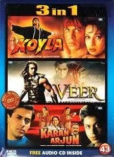 Koyla / Karan Arjun / Veer - 3 in 1 Dvd (100% Orginal Without Subtittle) [Dvd]